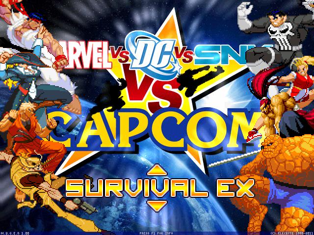 MFG: Marvel vs Dc vs SNK vs Capcom 1 0