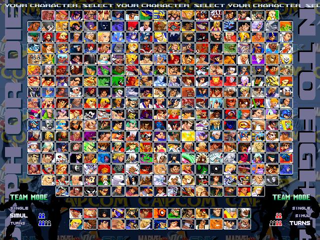 [SP] Marvel vs Dc vs SNK vs Capcom 1.0 Mvdvsvc-1.0-002